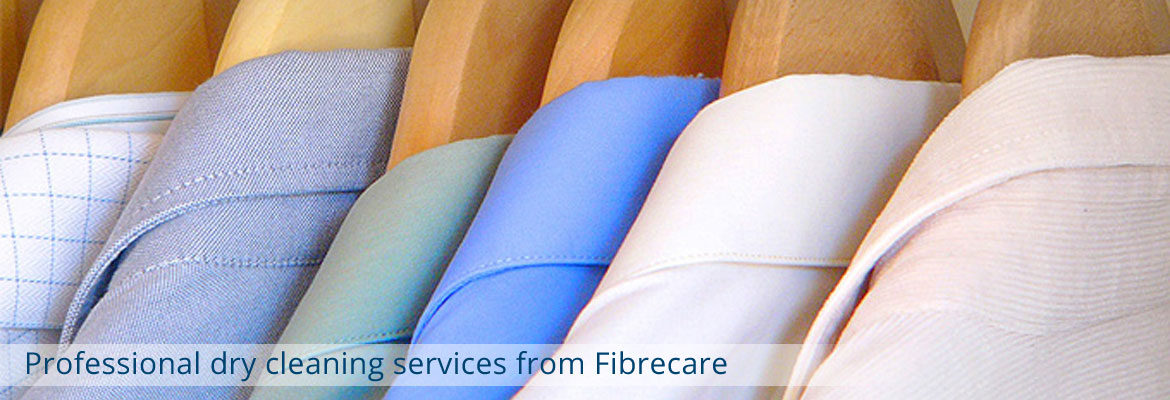 Professional Dry cleaning from Fibrecare